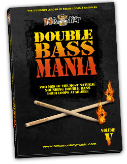 Double Bass Mania V - Doom, stoner, sludge metal drums.