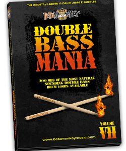 Modern metal drum loops - Double Bass Mania VII