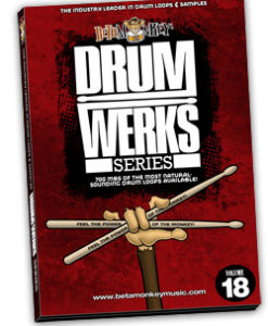 Drum loops with piccolo snare - Drum Werks XVIII