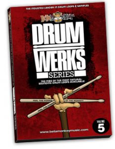 Live drum loops for alt rock, garage rock, indie rock.