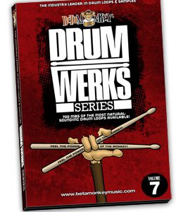 Drum Werks VII - 100% live rock, alt-rock drum loops