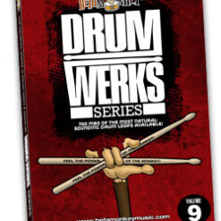 Get Drum Loops for Hard Rock and Rock - it's all here on Drum Werks IX
