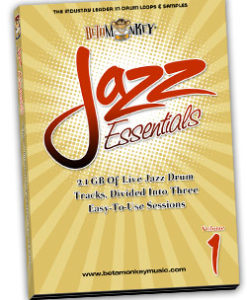Jazz Drum Loops - Jazz Essentials I
