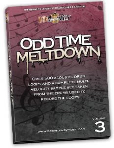 Odd Time Meltdown III Odd Time Drum Loops