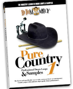 Modern Country Drum Loops - Pure Country I