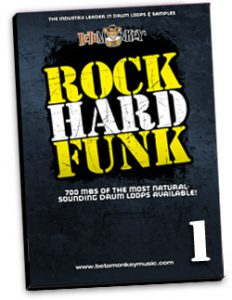 Funk Drum Loops - Rock Hard Funk I
