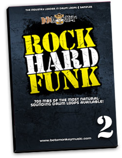 Drum Loops for Funk and Funk-Rock - Rock Hard Funk II