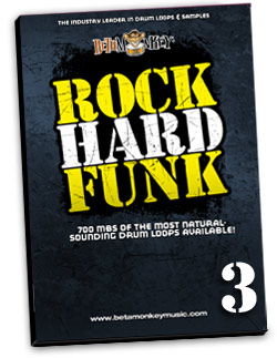 Funk Beats for Funk, RnB, Funk-Rock and More - Rock Hard Funk III