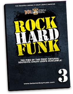 Drum Loops for Funk, RnB, Funk-Rock and More - Rock Hard Funk III