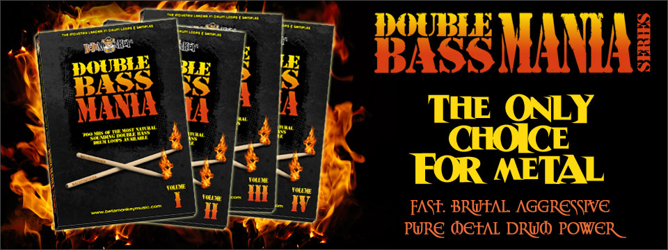 Drum loops for metal. The Double Bass Mania Metal Drum Loops and Samples Series
