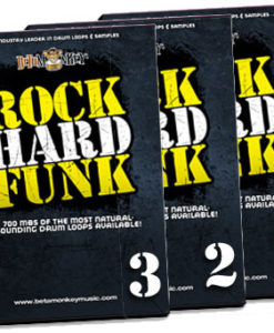 Product image of Rock Hard Funk drum loops bundle