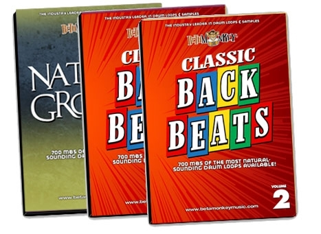 Vintage & Retro Drum Loop Bundle
