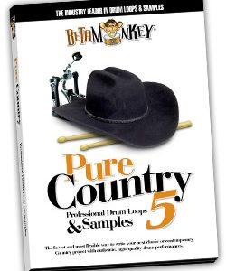 Swing Brush Drum Loops - Pure Country V