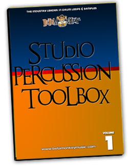 Percussion loops - Studio Percussion Toolbox