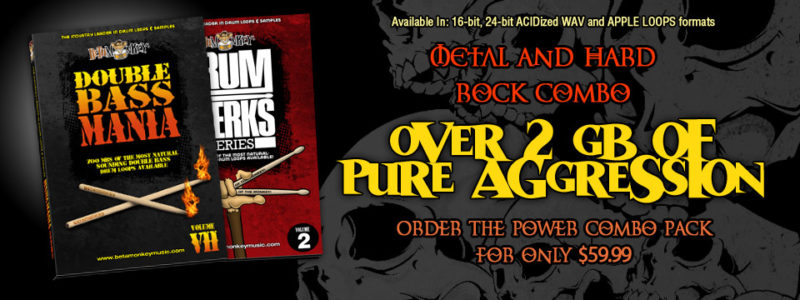 Rock and Metal Drum Loop Combo Package