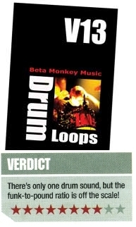 Beta Monkey Funky Drum Loops Review - Drum Werks XIII