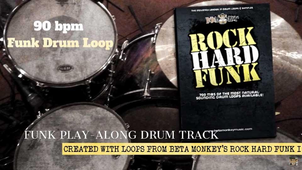 Funk Drum Tracks Play-Along 1