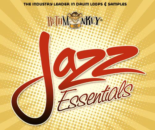 Jazz Drum Loops, Jazz Tracks - Beta Monkey