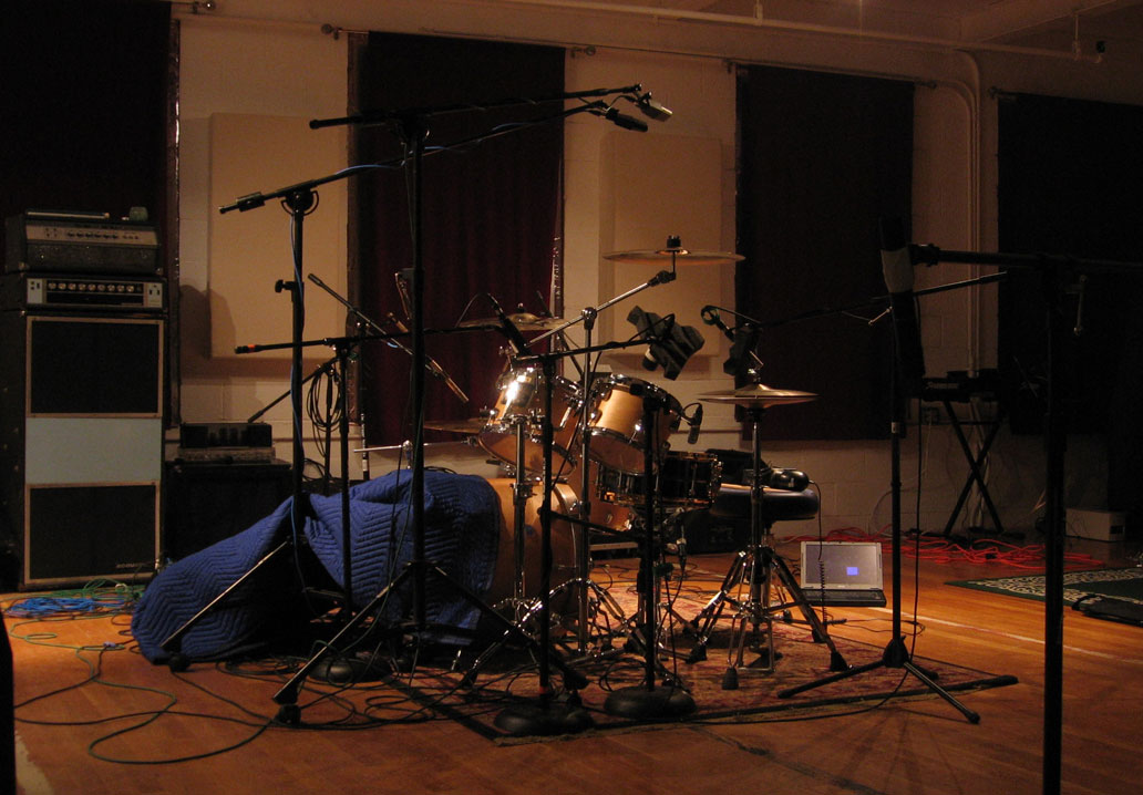Smith Custom Maple Drums Recording Sessions